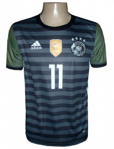 Camisa Alemanha Adidas Chumbo e Verde Euro 2016 - MWgrifes - Aqui é Top! 0d935790435d5