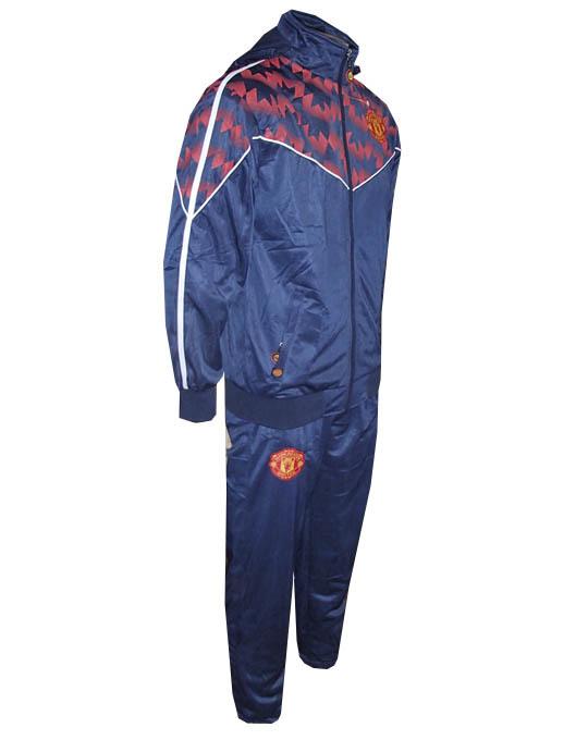 a4cd538ff Agasalho Manchester United Azul Marinho Rajado Agasalho Manchester United  Azul Marinho Rajado ...
