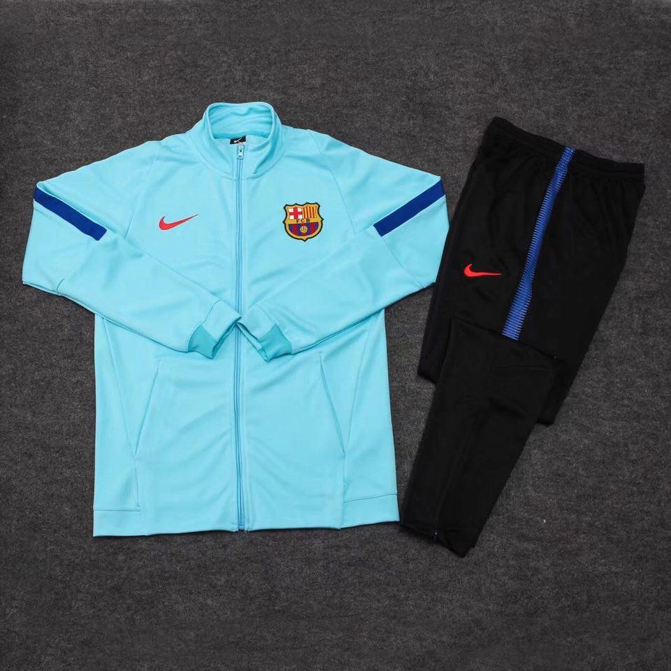 Agasalho Barcelona Nike Azul Claro 17 18 - MWgrifes - Aqui é Top! dcf2630dc8ddb