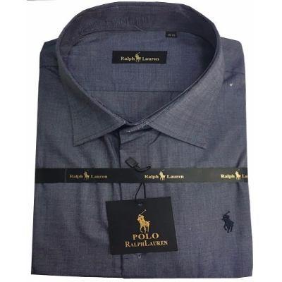 b531aaf57a Camisa Social Ralph Lauren Chumbo Lisa RL102 - MWgrifes - Aqui é Top!