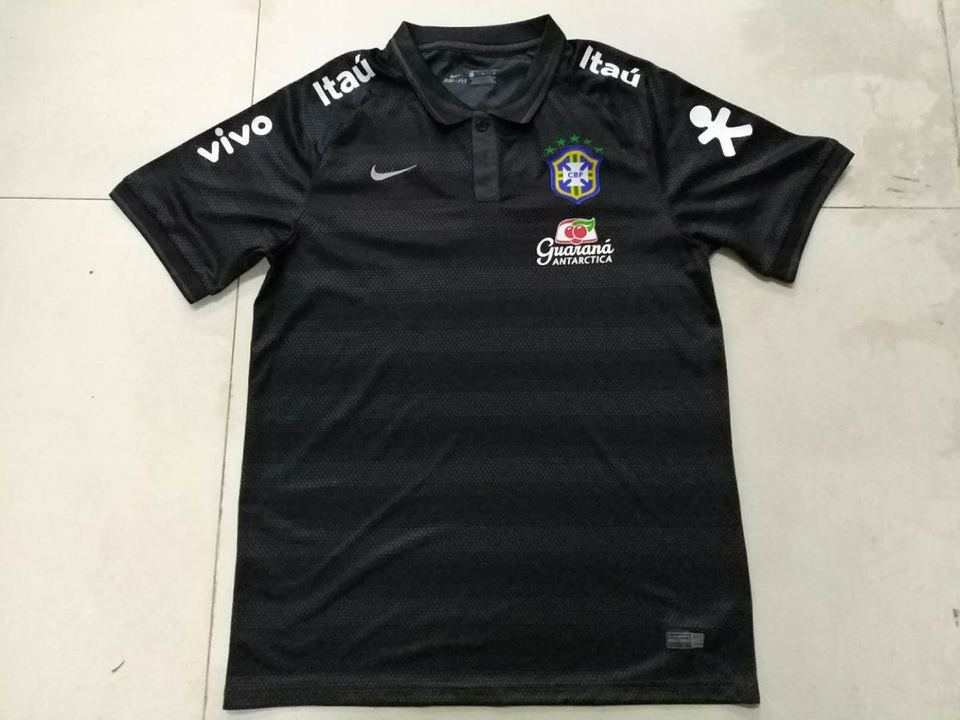 aca1063ba135a Camisa Polo Seleção Brasileira Preta - MWgrifes - Aqui é Top!
