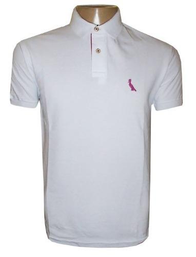 4e7e9e6639 Camisa Polo Reserva Branca Lisa - MWgrifes - Aqui é Top!