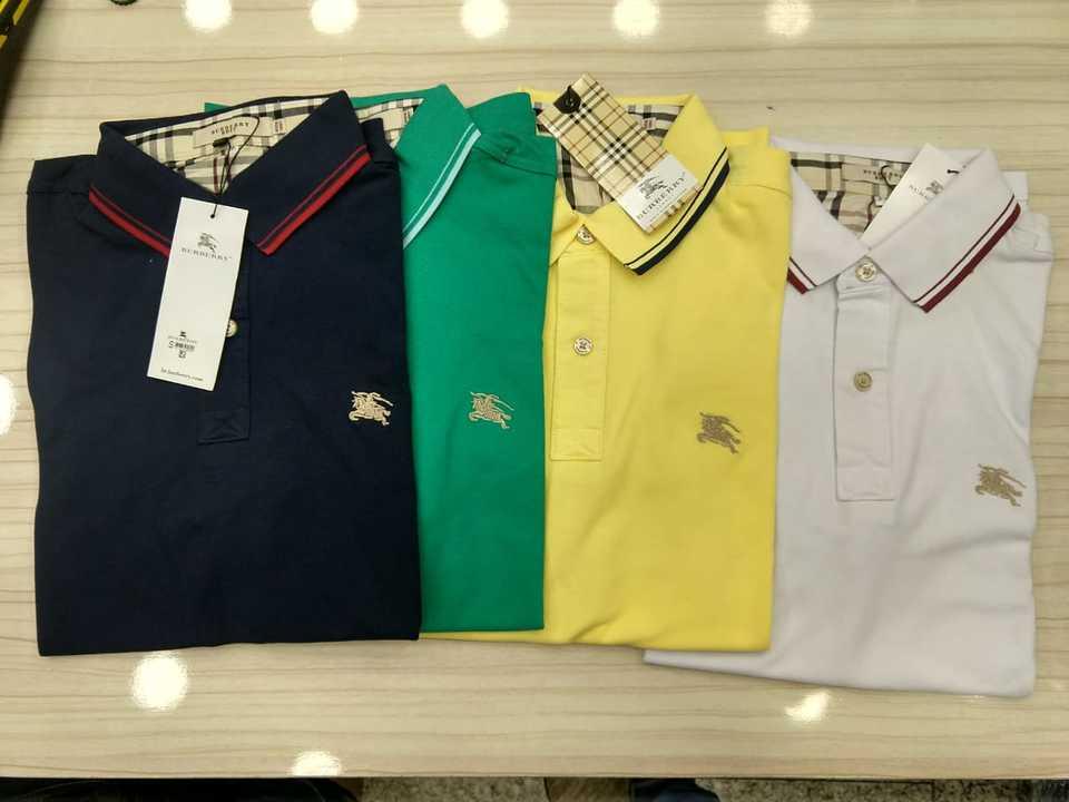 Kit 3 Camisas Polo Burberry Cores a Escolher - MWgrifes - Aqui é Top! eebe50988deba