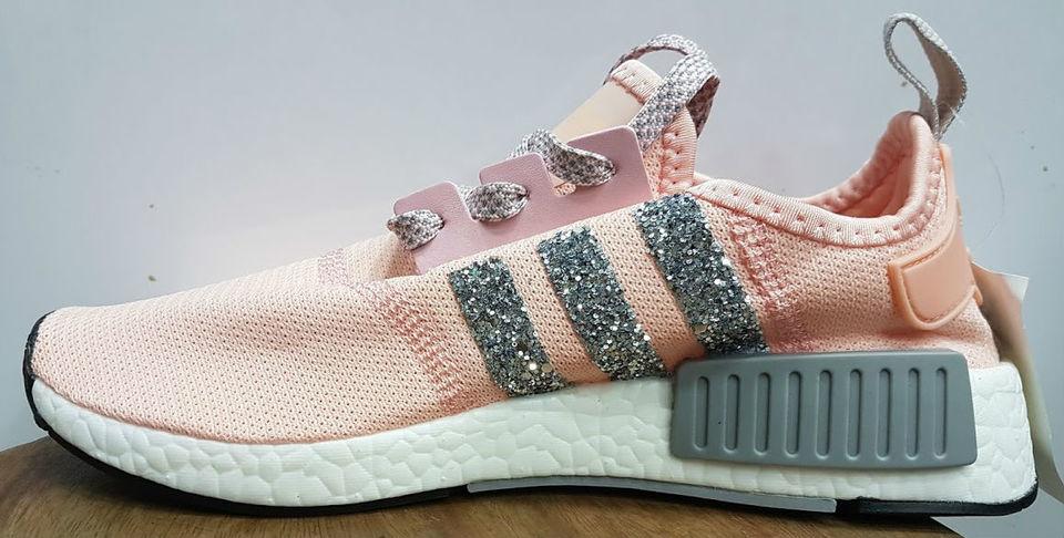 d5cb7631f1 Tênis Adidas MND Runner Boost Feminino Rosa Brilhante - MWgrifes ...