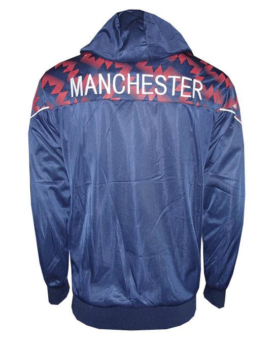 6c3ff48c1 Agasalho Manchester United Azul Marinho Rajado - MWgrifes - Aqui é Top!