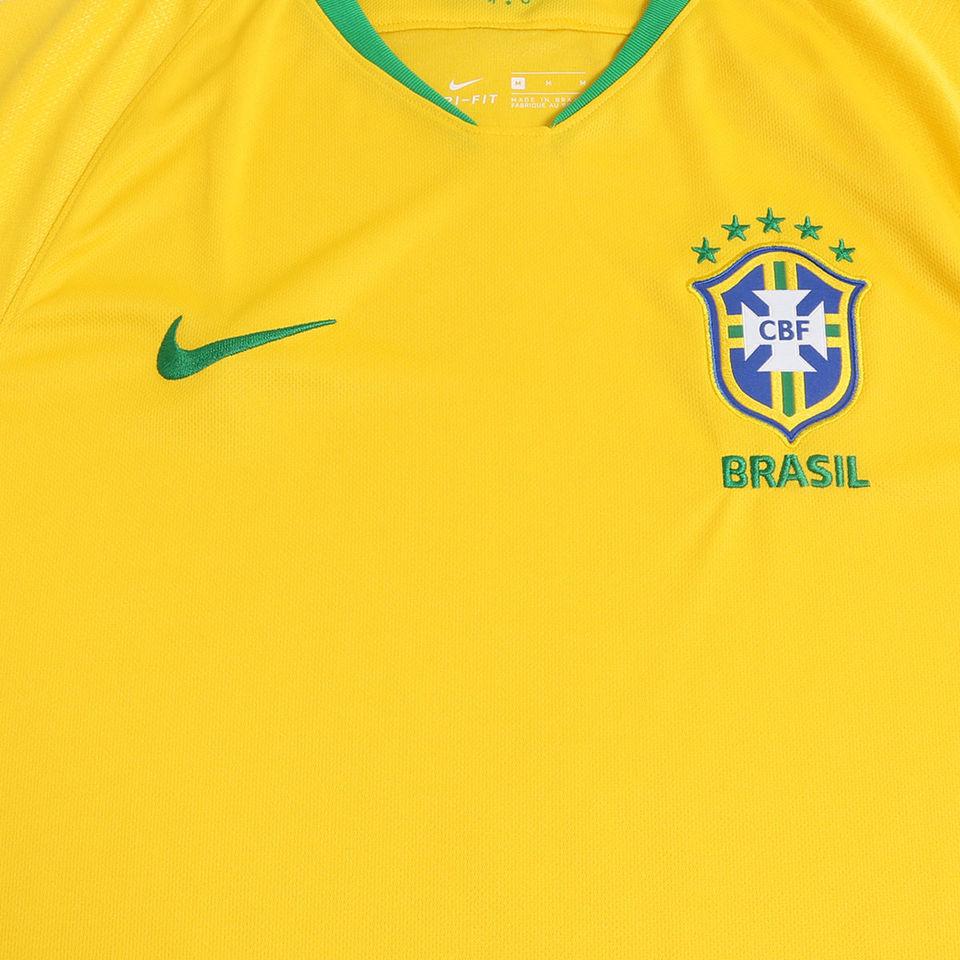 6b66443fda Camisa Seleção Brasileira I 2018 s n° - MWgrifes - Aqui é Top!