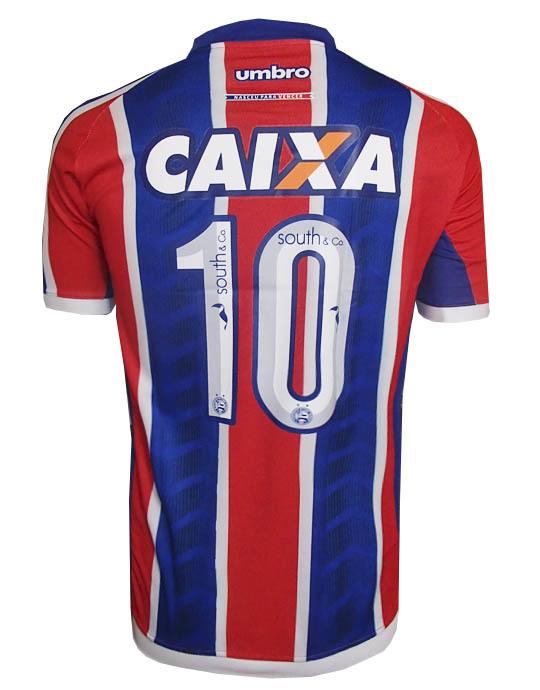 4cc64583f3 Camisa Bahia Umbro Listrada Azul e Vermelha - MWgrifes - Aqui é Top!