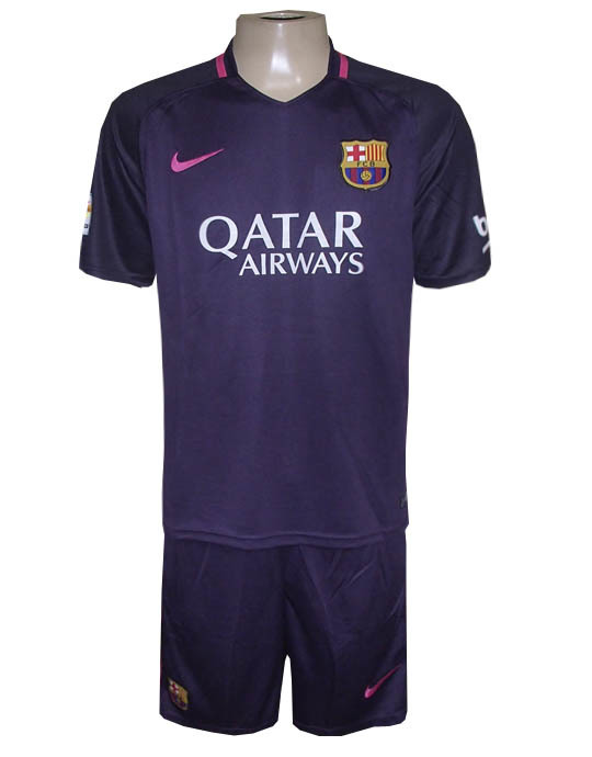 Conjunto Barcelona Nike Roxo 2017 - MWgrifes - Aqui é Top! a5f996b4ab67c