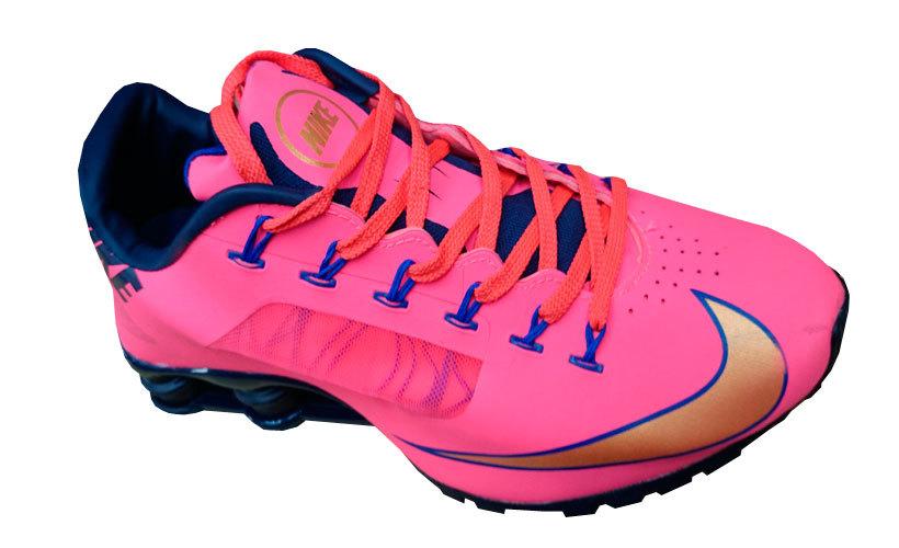 57c663477ad Tênis Nike Shox R4 Superfly Feminino Rosa Pink - MWgrifes - Aqui é Top!