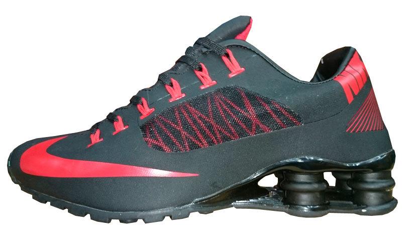 26a946e2311 Tênis Nike Shox R4 Superfly Preto e Vermelho - MWgrifes - Aqui é Top!