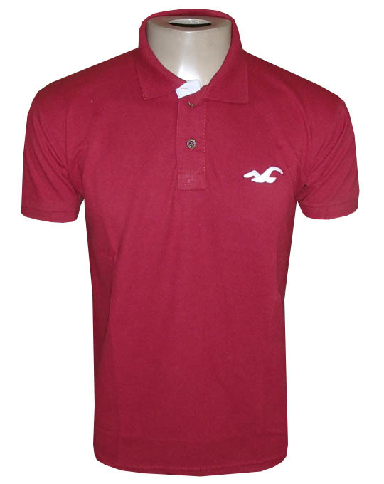 2205d6a02 Camisa Polo Hollister Vermelha Lisa - MWgrifes - Aqui é Top!
