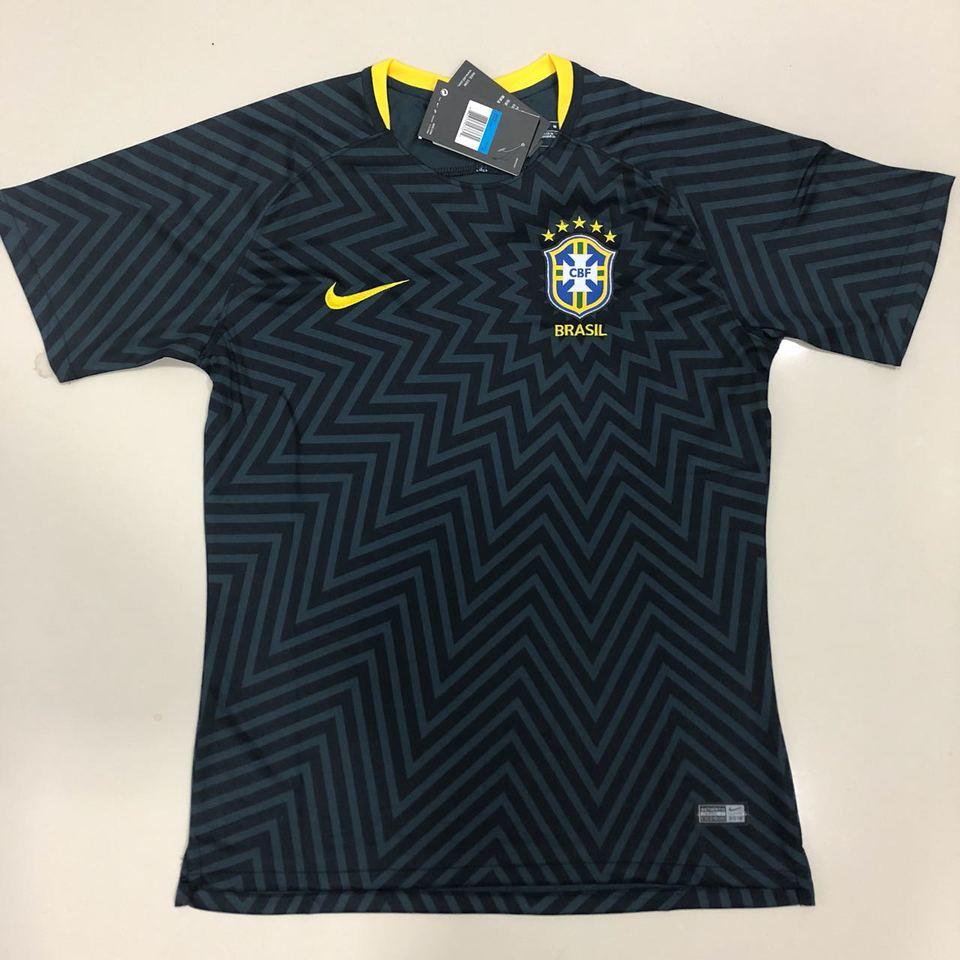 457641f134 Camisa Seleção Brasileira Nike Pré-Jogo 2018 - MWgrifes - Aqui é Top!