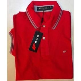 d60f3cdf1f666 Camisa Polo Ellus Vermelha - MWgrifes - Aqui é Top!