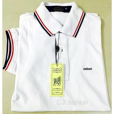 51cf1f2f14 Camisa Polo Colcci Branca - MWgrifes - Aqui é Top!