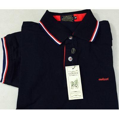 Camisa Polo Colcci Preta - MWgrifes - Aqui é Top! f4e90746fd0ec