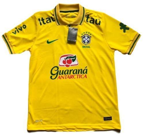 5b2c89c71c08b Camisa Polo Seleção Brasileira Amarela - MWgrifes - Aqui é Top!