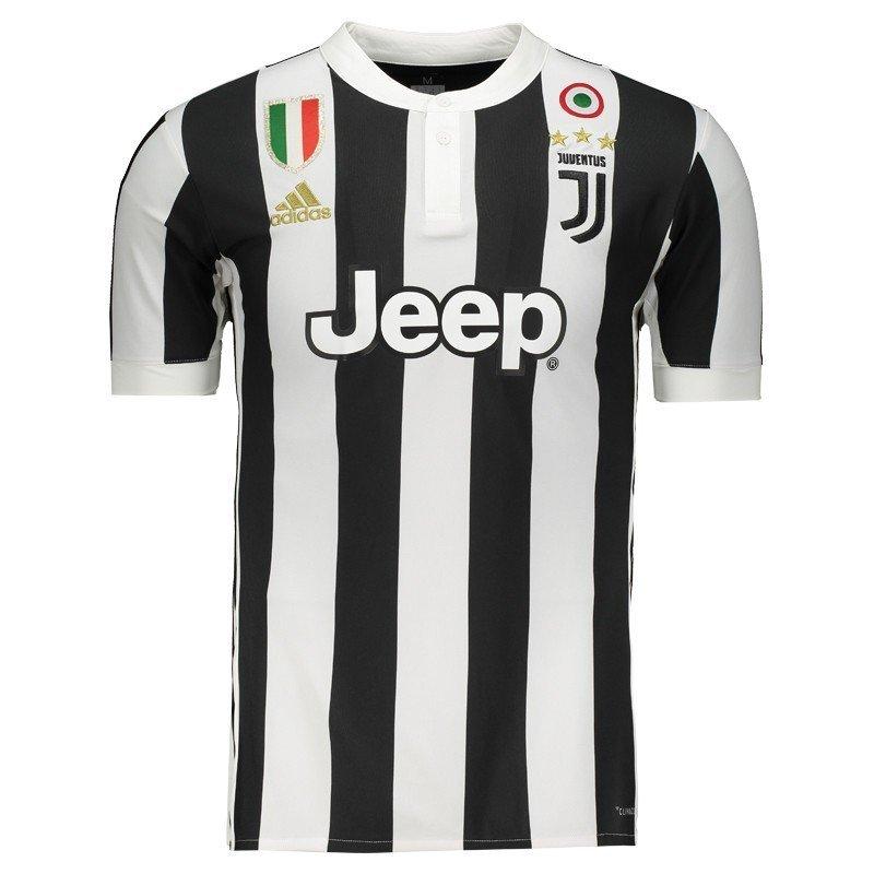 ba1a60611c521 Camisa Juventus Adidas Listrada 17 18 - MWgrifes - Aqui é Top!
