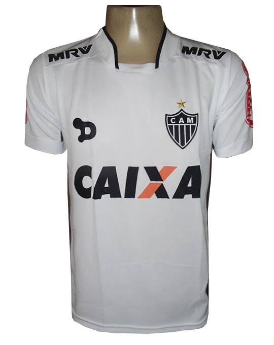 Camisa Atlético Mineiro Dryworld Branca 2016 - MWgrifes - Aqui é Top! 0775957bd7cd6