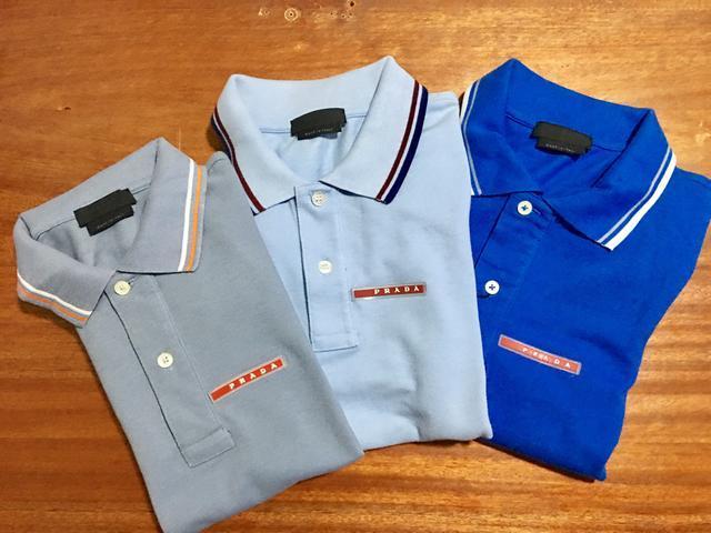 92cf20044ce7e Kit com 3 Camisas Polo Prada Lisa - MWgrifes - Aqui é Top!