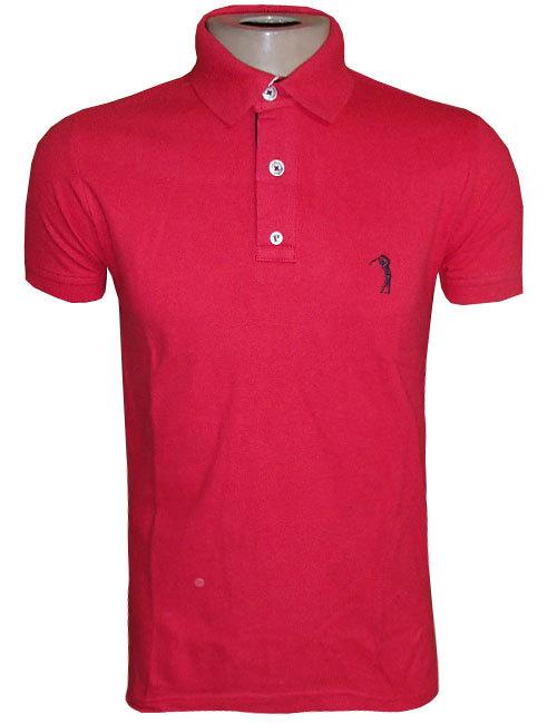 Camisa Polo Aleatory Vermelha Básica - MWgrifes - Aqui é Top! 312c18203525c