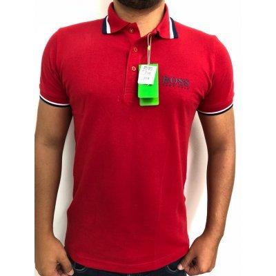 Camisa Polo Hugo Boss Vermelha - MWgrifes - Aqui é Top! 20ed5fd6879