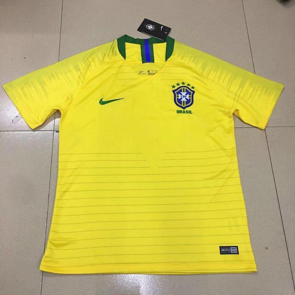 Camisa Seleção Brasileira Amarela II 2018 Nike - MWgrifes - Aqui é Top! 15887703794e4