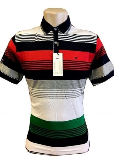 Camiseta Polo Tommy Hilfiger Listrada Colorida Mod 2 - MWgrifes ... e55f43f895b23