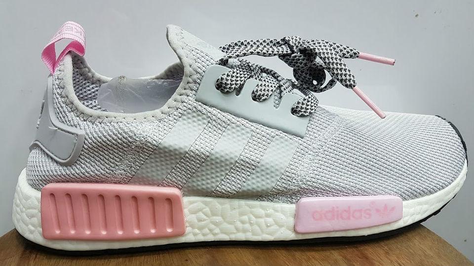 tenis adidas feminino rosa e cinza