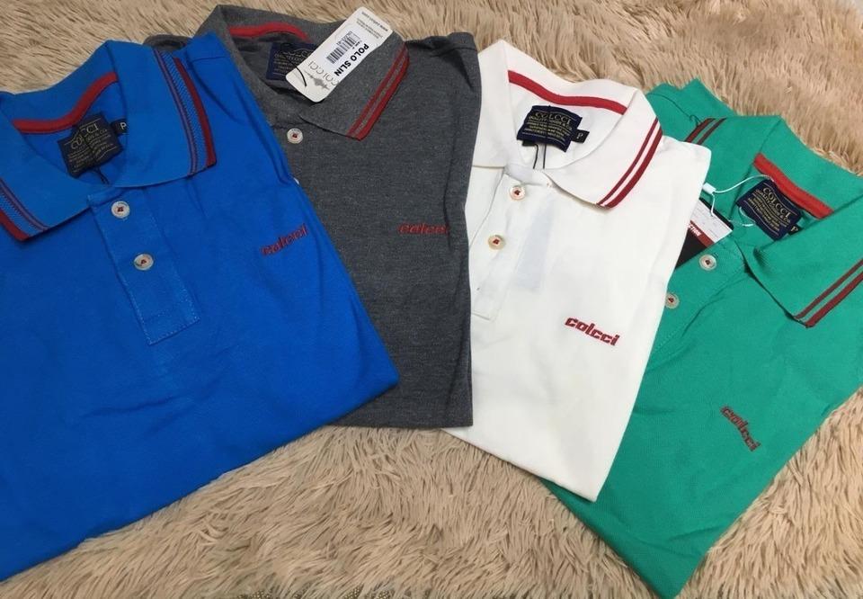 82b965e6df361 Kit 2 Camisas Polo Colcci - Cores a Escolher - MWgrifes - Aqui é Top!