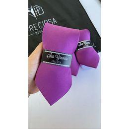 Gravata roxo violeta
