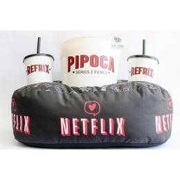 kit pipoca Netflix Preto