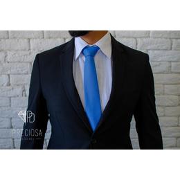 Gravata Azul classic blue  Jacquard