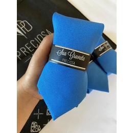 Gravata Azul classic blue  oxfordini
