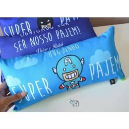 Super pajem - Almofada retangular