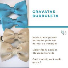 Gravata borboleta  (SOLICITE CORES E TECIDOS DISPONÍVEIS )