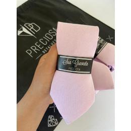 Gravata rosa clarinho LINHO