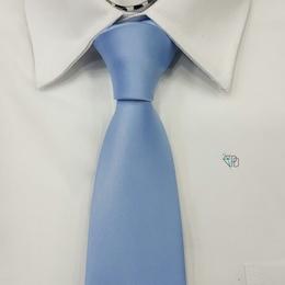 Gravata Italiana Azul bebê Lisa