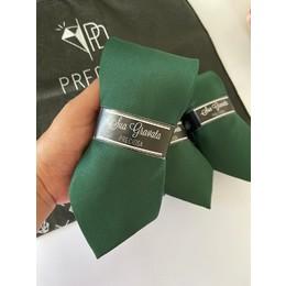 Gravata Verde Lisa Italiana