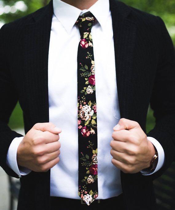 Gravata Floral