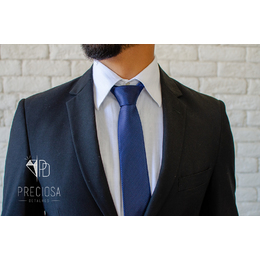 Gravata Azul Marinho Italiana