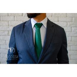 Gravata Verde Bandeira Listrada Italiana