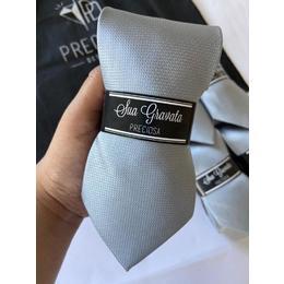 Gravata Cinza Italiana