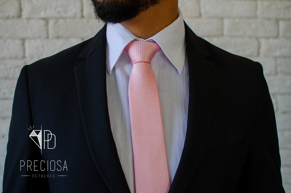 Gravata Rose Italiana