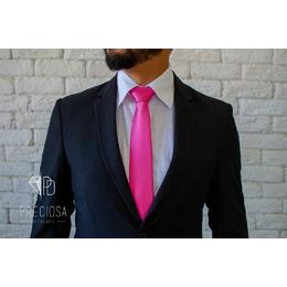 Gravata Rosa pink Italiana