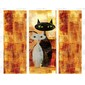 Adesivo Envelopamento de Geladeira CT099 Cats