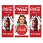 Adesivo Envelopamento de Geladeira CC101 Coca Cola Vintage