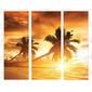 Adesivo Envelopamento de Geladeira PS047 Paisagem por do sol