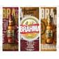 Adesivo Envelopamento de Geladeira BH056 Brahma