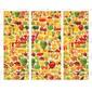Adesivo Envelopamento de Geladeira FV113 Frutas & verduras
