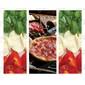 Adesivo Envelopamento de Geladeira PZ126 Pizza Italia
